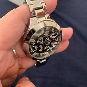 Michael Kors Sparkly Animal Print Watch